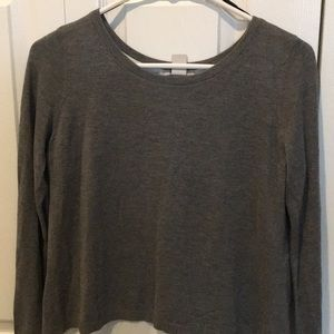 H&M sweater with blouse accents